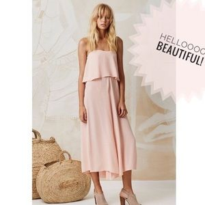 Mister Zimi Florence Jumpsuit in Blush